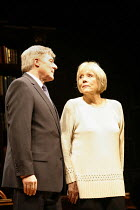 HONOUR   by Joanna Murray-Smith   director: David Grindley,Martin Jarvis (George), Diana Rigg (Honor),Wyndham^s Theatre, London WC2                   14/02/2006  ,
