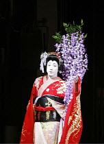 Japanese Kabuki FUJI MUSUME