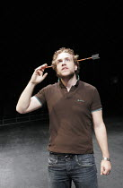 THE KNIGHT OF THE BURNING PESTLE   by Francis Beaumont   director: Anna Mackmin,Rafe Spall (Rafe),Mercury Theatre / Young Vic / BITE:05 co-production   Barbican Theatre, London EC2  29/09/2005,