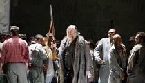 LADY MACBETH OF MTSENSK   by Shostakovich   conductor: Antonio Pappano   director: Richard Jones,John Tomlinson (Boris Ismailov),The Royal Opera / Covent Garden   London WC2         30/09/2006,