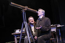 THE LIFE OF GALILEO   by Brecht, in a version by David Hare   director: Howard Davies   design: Bunny Christie,l-r: Simon Russell Beale (Galileo Galilei), Duncan Bell (Sagredo),Olivier Theatre / Natio...