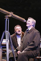 THE LIFE OF GALILEO   by Brecht, in a version by David Hare  , director: Howard Davies   design: Bunny Christie,l-r: Simon Russell Beale (Galileo Galilei), Duncan Bell (Sagredo),Olivier Theatre / Nati...