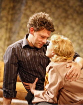 LOOK BACK IN ANGER   by John Osborne   director: Peter Gill ~Richard Coyle (Jimmy Porter), Mary Stockley (Alison Porter) ~Theatre Royal Bath / Bath, England  22/08/2006