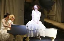 THE MIKADO   by Gilbert & Sullivan - conductor: Simon Lee   original director: Jonathan Miller,l-r: Anne Marie Gibbons (Pitti-Sing), Fiona Canfield (Peep-Bo), Sarah Tynan (Yum-Yum),English National Op...