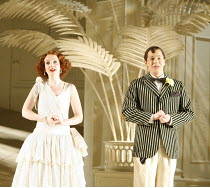 THE MIKADO   by Gilbert & Sullivan - conductor: Simon Lee   original director: Jonathan Miller,Sarah Tynan (Yum-Yum), Keith Jameson (Nanki-Poo),English National Opera / London Coliseum  WC2         03...