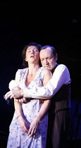 A MOON FOR THE MISBEGOTTEN   by Eugene O^Neill   director: Howard Davies,Eve Best (Josie), Kevin Spacey (Jim Tyrone),Old Vic Theatre, London SE1      26/09/2006,