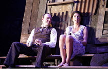 A MOON FOR THE MISBEGOTTEN   by Eugene O^Neill   director: Howard Davies,Kevin Spacey (Jim Tyrone), Eve Best (Josie),Old Vic Theatre, London SE1      26/09/2006,