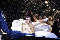THE NOSE   by Dmitry Shostakovich   based on the story by Gogol   conductor: Valery Gergiev   director: Yury Alexandrov,Avgust Amonov (The Nose),Mariinsky (Kirov) Opera / London Coliseum  WC2      20/...