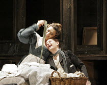 LE NOZZE DI FIGARO   (The Marriage of Figaro)   by Mozart   conductor: Colin Davis   original director: David McVicar   design: Tanya McCallin,Act I - l-r: Isabel Bayrakdarian (Susanna, top), Sophie K...