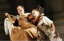 LE NOZZE DI FIGARO   (The Marriage of Figaro)   by Mozart   conductor: Colin Davis   original director: David McVicar   design: Tanya McCallin,Act II - l-r: Soile Isokoski (Countess Almaviva), Sophie...