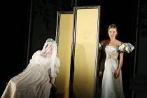 LE NOZZE DI FIGARO   (The Marriage of Figaro)   by Mozart   conductor: Antonio Pappano   director: David McVicar   design: Tanya McCallin,Act IV - l-r: Dorothea R�schmann (Countess Almaviva), Miah Per...
