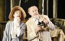 THE OLD COUNTRY  by Alan Bennett  set design: John Gunter  costumes: Mark Bouman  lighting: Ben Ormerod  director: Stephen Unwin <br> ~Jean Marsh (Bron), Timothy West (Hilary)~English Touring Theatre,...