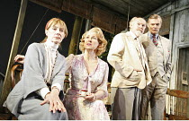 THE OLD COUNTRY  by Alan Bennett  set design: John Gunter  costumes: Mark Bouman  lighting: Ben Ormerod  director: Stephen Unwin <br>  l-r: Jean Marsh (Bron), Susan Tracy (Veronica), Timothy West (Hi...