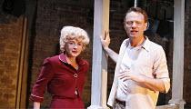 PERIOD OF ADJUSTMENT   by Tennessee Williams   director: Howard Davies,Lisa Dillon (Isabel Haverstick), Jared Harris (Ralph Bates),Almeida Theatre, London N1                              16/03/2006,