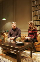 THE PHILANTHROPIST   by Christopher Hampton   director: David Grindley,Simon Russell Beale (Philip), Anna Madeley (Celia),Donmar Warehouse / London WC2        13/09/2005       ,