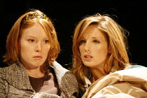 PIANO/FORTE   written & directed by Terry Johnson,l-r: Alicia Witt (Abigail), Kelly Reilly (Louise),Jerwood Theatre Downstairs / Royal Court Theatre, London SW1  20/09/2006,