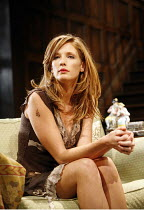 PIANO/FORTE   written & directed by Terry Johnson,Kelly Reilly (Louise),Jerwood Theatre Downstairs / Royal Court Theatre, London SW1  20/09/2006,