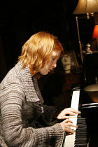 PIANO/FORTE   written & directed by Terry Johnson,Alicia Witt (Abigail),Jerwood Theatre Downstairs / Royal Court Theatre, London SW1  20/09/2006,