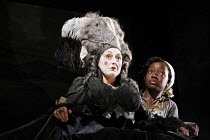 RESTORATION   by Edward Bond   director: Rupert Goold   design: Colin Richmond,l-r: Beverley Klein (Lady Are), Madeline Appiah (Rose),Headlong Theatre (formerly Oxford Stage Company) / Bristol Old Vic...