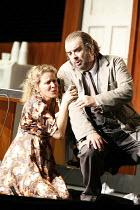 RIGOLETTO   by Verdi   conductor: Martin Andre  ,director, set & lighting designer: Charles Edwards,Henriette Bonde-Hansen (Gilda), Alan Opie (Rigoletto),Opera North / Leeds, England      07/10/2006,~...