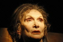 ROCKABY   by Samuel Beckett   director: Loveday Ingram,Sian Phillips (Woman),Beckett Centenary Festival / BITE:06 / The Pit / Barbican Centre, London EC2   22/03/2006,