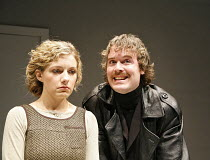 THE RUFFIAN ON THE STAIR   by Joe Orton   director: Jeremy Bond,Natalie Walter (Joyce), Martin Jenkins (Mike),^A Shot of Genius^ / Sound Theatre, London W1                    02/05/2006,