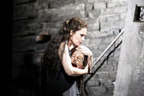 SALOME   by Richard Strauss   conductor: Kwame Ryan   director: David Leveaux ~Cheryl Barker (Salome) with the head of Jokanaan ~English National Opera (ENO), London Coliseum  WC2  19/10/2005 ~(c) Don...