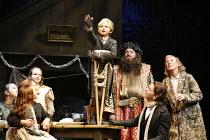 SCROOGE   based on ^A Christmas Carol^ by Dickens   book, music & lyrics: Leslie Bricusse   director: Bob Tomson,l-r: Susan Humphris (Mrs Cratchit) & Cratchit children, Laurence Belcher (Tiny Tim), Ja...