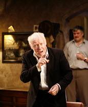 THE SEAFARER   written & directed by Conor McPherson,l-r:  Jim Norton (Richard Harkin), Conleth Hill (Ivan Curry),Cottesloe Theatre / National Theatre, London SE1        28/09/2006,