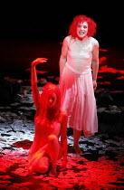 THE SEVEN DEADLY SINS   music: Kurt Weill   text: Bertolt Brecht   ,conductor: Roberto Minczuk   director: Francois Girard,rear: Gun-Brit Barkmin (Anna I),Opera National de Lyon / Festival Theatre / E...