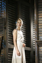 SUMMER AND SMOKE   by Tennessee Williams    director: Adrian Noble ~Rosamund Pike (Alma Winemiller),Apollo Theatre, London W1         18/10/2006,
