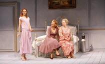THREE TALL WOMEN   by Edward Albee   director: Irena Brown,l-r: Anna-Louise Plowman, Diane Fletcher, Marjorie Yates,Oxford Playhouse / Oxford, England                 02/05/2006              ,