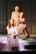 THREE TALL WOMEN   by Edward Albee   director: Irena Brown,clockwise from front left: Anna-Louise Plowman, Marjorie Yates, Diane Fletcher,Oxford Playhouse / Oxford, England                 02/05/2006...
