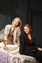 THREE TALL WOMEN   by Edward Albee   director: Irena Brown,l-r: Diane Fletcher, Anna-Louise Plowman,Oxford Playhouse / Oxford, England                 02/05/2006              ,
