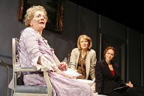 THREE TALL WOMEN   by Edward Albee   director: Irena Brown,l-r: Marjorie Yates, Diane Fletcher, Anna-Louise Plowman,Oxford Playhouse / Oxford, England                 02/05/2006              ,