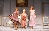 THREE TALL WOMEN   by Edward Albee   director: Irena Brown,l-r: Diane Fletcher, Marjorie Yates, Anna-Louise Plowman,Oxford Playhouse / Oxford, England                 02/05/2006              ,