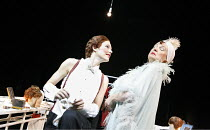 TONIGHT AT 8.30   by Noel Coward   director: Lucy Bailey,'Red Peppers' l-r: Josefina Gabrielle (Lilly Pepper), Susan Wooldridge (Mabel Grace),Minerva Theatre / Chichester Festival Theatre / West Susse...