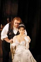 TOSCA   by Puccini   conductor: Antonio Pappano   director: Jonathan Kent,Act II: Bryn Terfel (Baron Scarpia), Angela Gheorghiu (Floria Tosca),The Royal Opera / Covent Garden   London WC2         13/0...