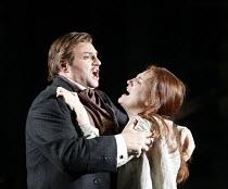 LA TRAVIATA   by Verdi   conductor: Jonathan Darlington   director: Conall Morrison,Act III: Dwayne Jones (Alfredo Germont), Emma Bell (Violetta Valery),new production supported by Culture Ireland / E...