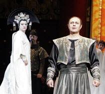 'TURANDOT' (Puccini - conductor: Valery Gergiev),Irina Gordei (Princess Turandot), Vladimir Galuzin (Calaf),The Kirov Opera / Royal Opera House / Covent Garden   London WC2        04/08/2005,
