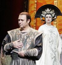 'TURANDOT' (Puccini - conductor: Valery Gergiev),Vladimir Galuzin (Calaf), Irina Gordei (Princess Turandot),The Kirov Opera / Royal Opera House / Covent Garden   London WC2        04/08/2005,