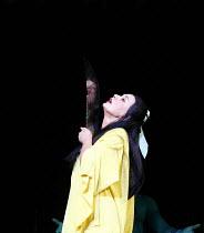 TURANDOT by Puccini - conductor: Stefan Soltesz  original director: Andrei Serban,Liu kills herself: Elena Kelessidi (Liu)   ,The Royal Opera / Covent Garden   London WC2        07/07/2006,~(c) Donald...