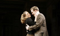 WHO^S AFRAID OF VIRGINIA WOOLF?   by Edward Albee   director: Anthony Page,Kathleen Turner (Martha), David Harbour (Nick),Apollo Theatre, London W1         31/01/2006  ,