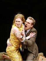 WHO^S AFRAID OF VIRGINIA WOOLF?   by Edward Albee   director: Anthony Page,Mireille Enos (Honey), David Harbour (Nick),Apollo Theatre, London W1         31/01/2006  ,