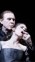 WOMEN BEWARE WOMEN   by Thomas Middleton   director: Laurence Boswell,Tim Pigott-Smith (Duke of Florence), Hayley Atwell (Bianca),Royal Shakespeare Company / Swan Theatre, Stratford-upon-Avon, England...