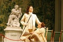 XERXES   by Handel   conductor: Noel Davies   original director: Nicholas Hytner,Katarina Karneus (Xerxes), Lawrence Zazzo (Arsamenes),English National Opera / London Coliseum  WC2               19/11...