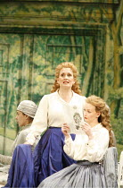 XERXES   by Handel   conductor: Noel Davies   original director: Nicholas Hytner,l-r: Janis Kelly (Romilda), Sarah Tynan (Atalanta),English National Opera / London Coliseum  WC2               19/11/20...