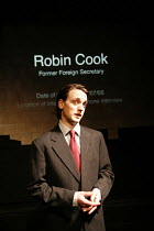 YESTERDAY WAS A WEIRD DAY   Reflections on July 7th 2005,Toby Manley (Robin Cook/late Labour MP & Cabinet Minister),look left look right / Battersea Arts Centre (BAC), London SW11                   09...