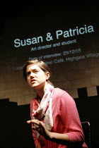YESTERDAY WAS A WEIRD DAY   Reflections on July 7th 2005,Charity Wakefield (Susan/survivor),look left look right / Battersea Arts Centre (BAC), London SW11                   09/02/2006,