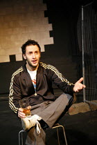 YESTERDAY WAS A WEIRD DAY   Reflections on July 7th 2005,Aykut Hilmi (Dave/survivor),look left look right / Battersea Arts Centre (BAC), London SW11                   09/02/2006,